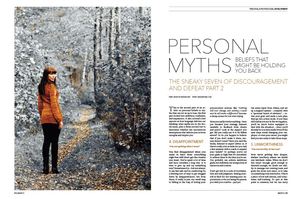 Annette Reissfelder Myths